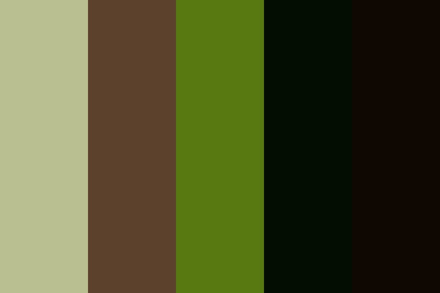 Sleeping Forest Color Palette