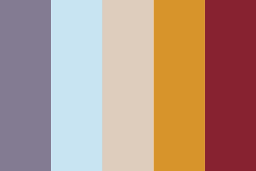 Sleepy Summer Day Color Palette
