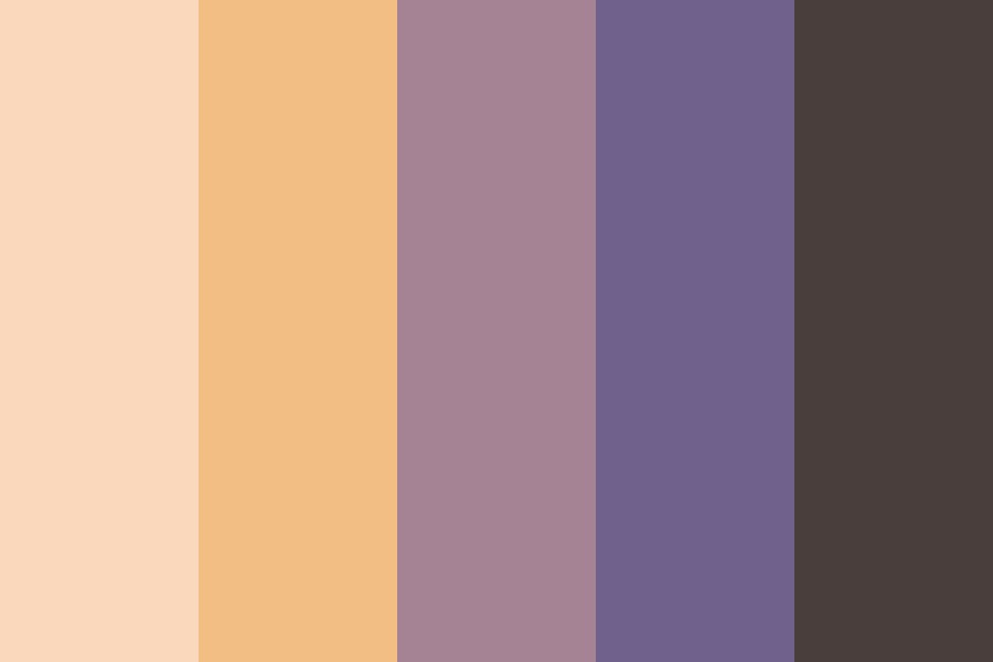 Smoking Sunset Color Palette