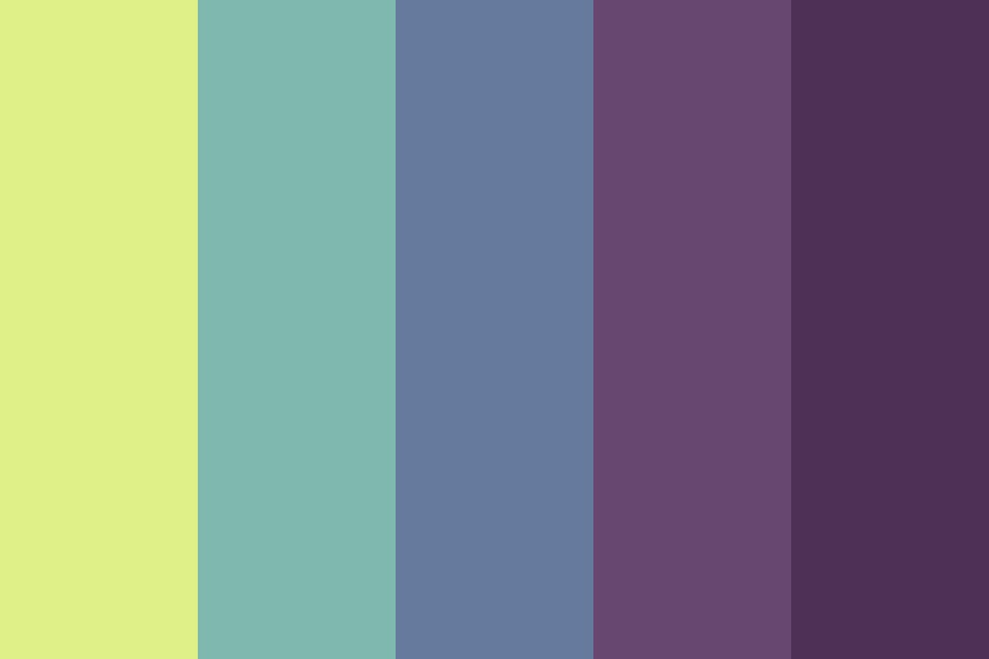 Smooth Summer Thoughts Color Palette