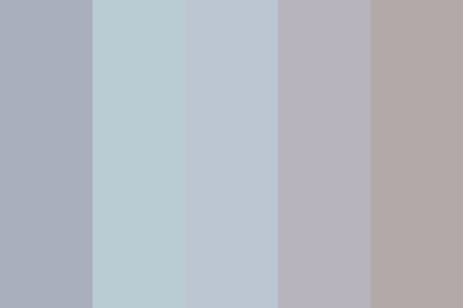 So Tired Color Palette