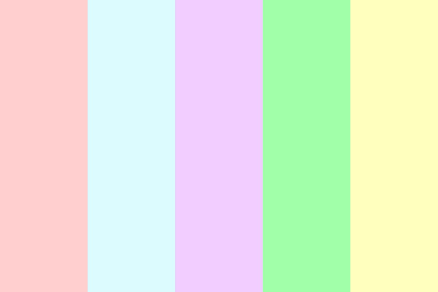 Soft And Cuddly Pastels Color Palette
