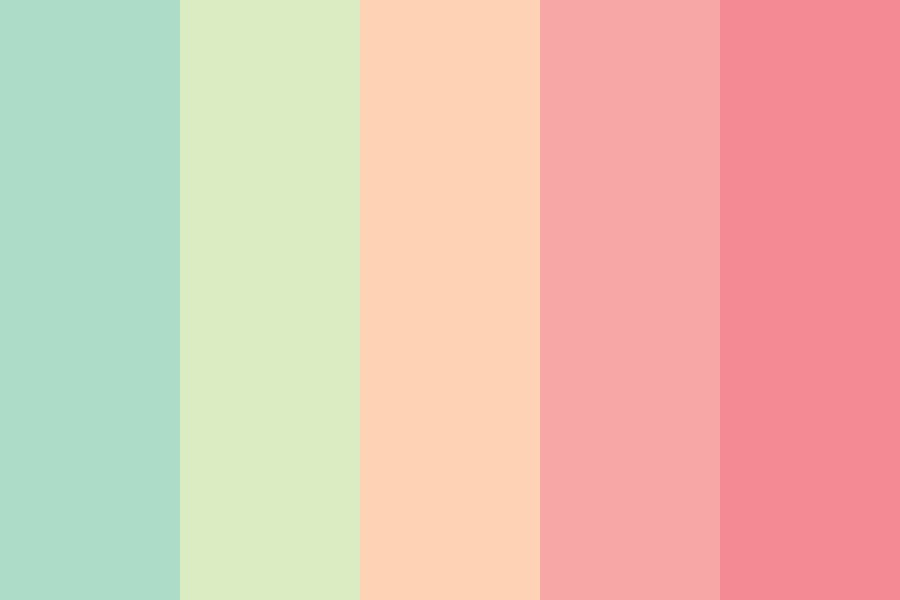 Soft And Inspiring Color Palette
