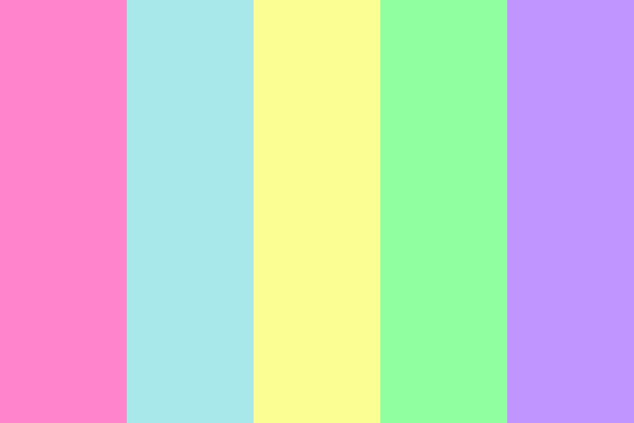 Soft And Sweet Pastel Color Palette