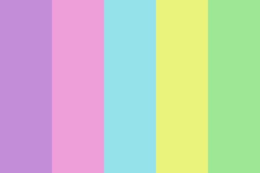 Soft As Hell Wtf Color Palette