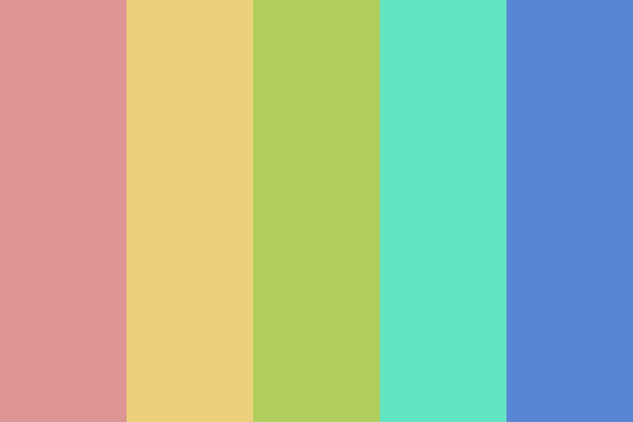 Soft Color Color Palette