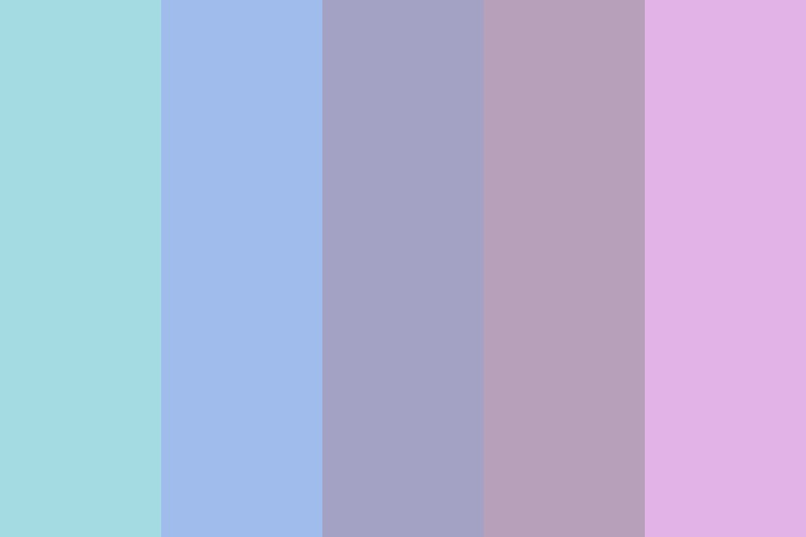 Soft Fluffy Clouds Color Palette