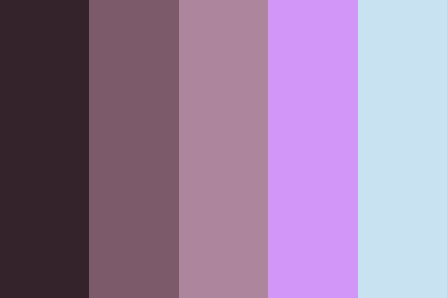 Soft Sobbing Color Palette