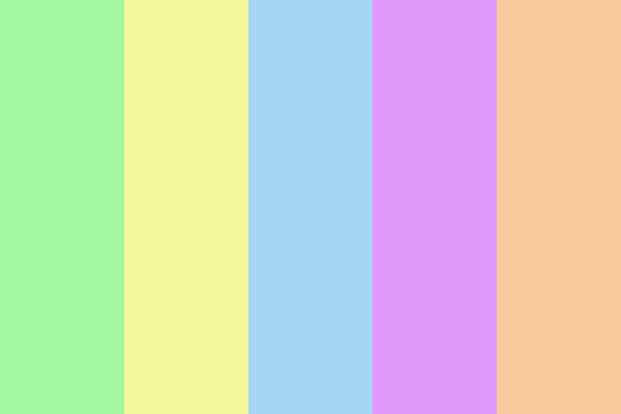 Soft Sugar Color Palette