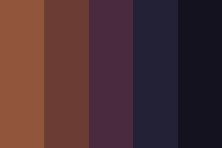 Soft black Color Palette