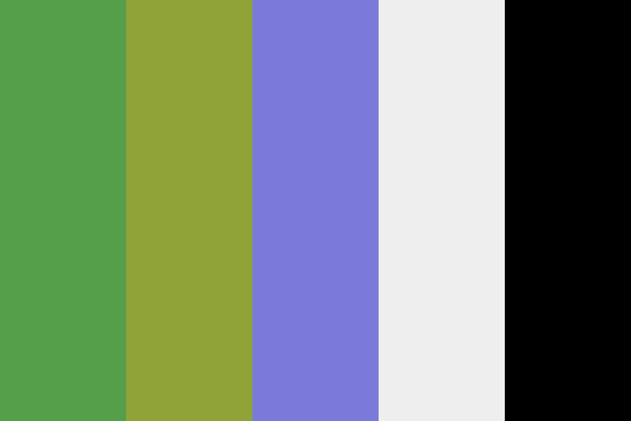 Softgreens Color Palette