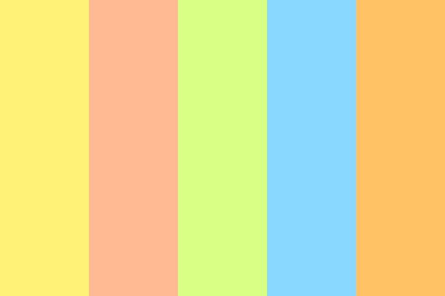 Softies  brighter Edition  Color Palette