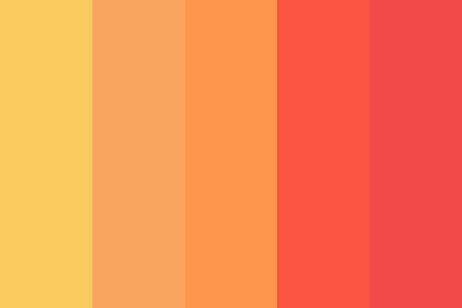 Somewhere Over The Rainbows Color Palette