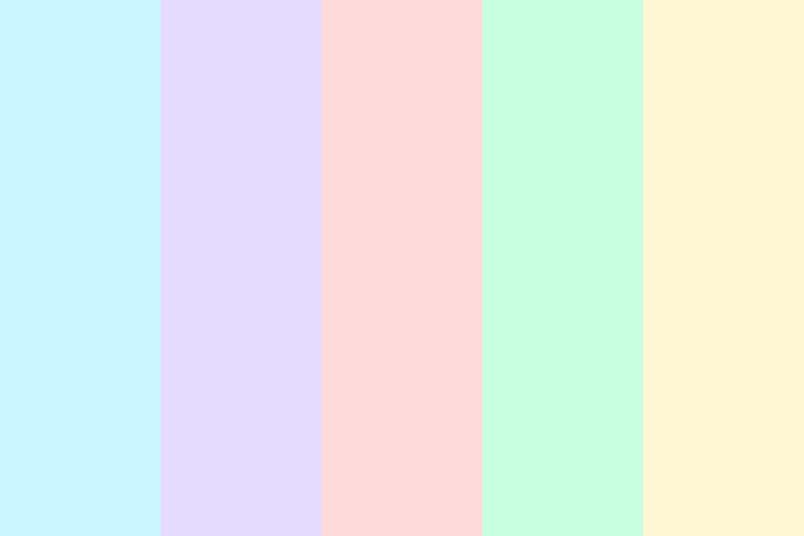 Soothing Pastel Color Palette