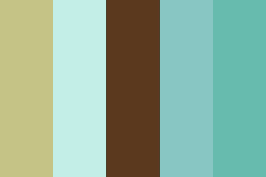 Spa Earth Color Palette