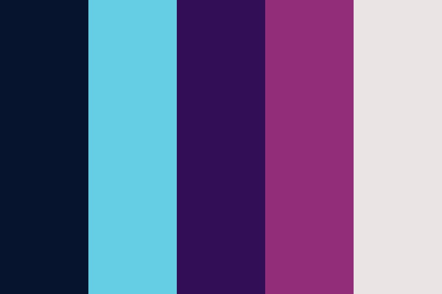 Space Cruise Line Color Palette