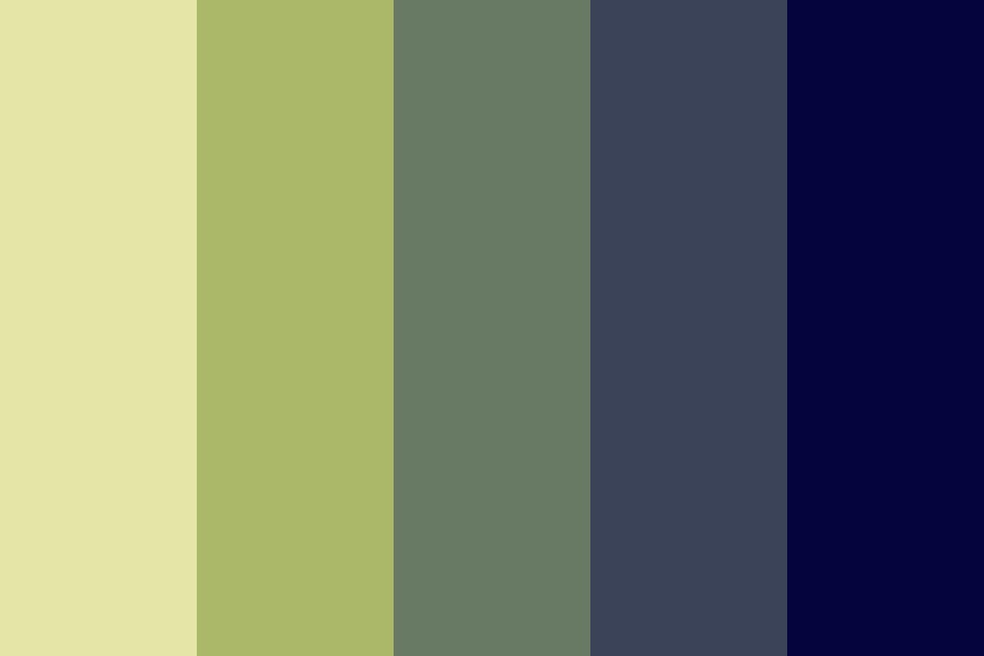Space Is The Place Color Palette