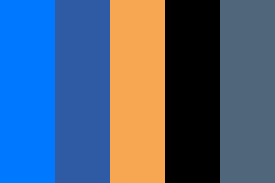 Space Oddity Revised Color Palette