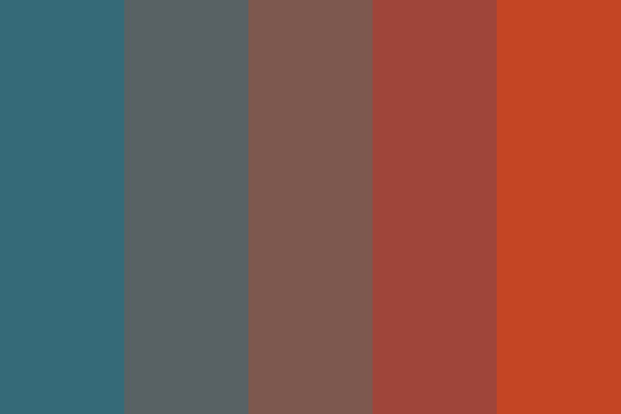 Space Race Color Palette