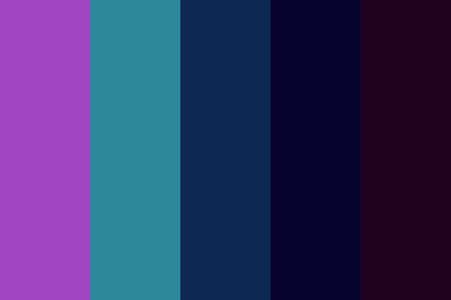 Space Witch Color Palette
