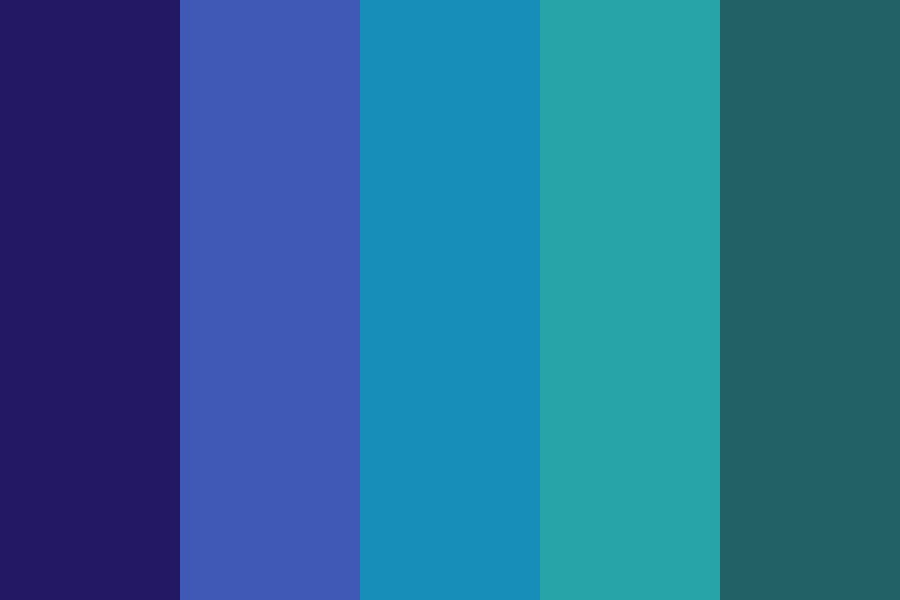 Spacey Blues Color Palette