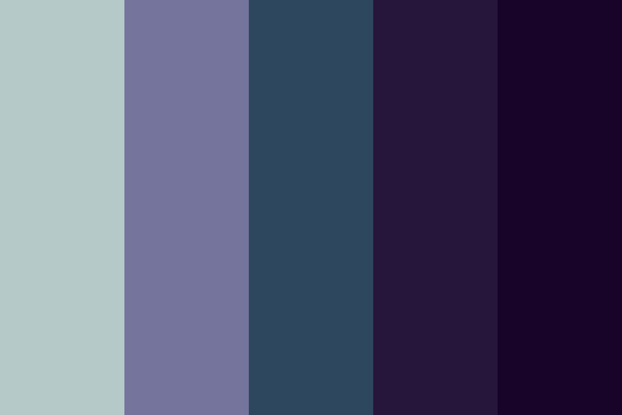 Spacey Color Palette