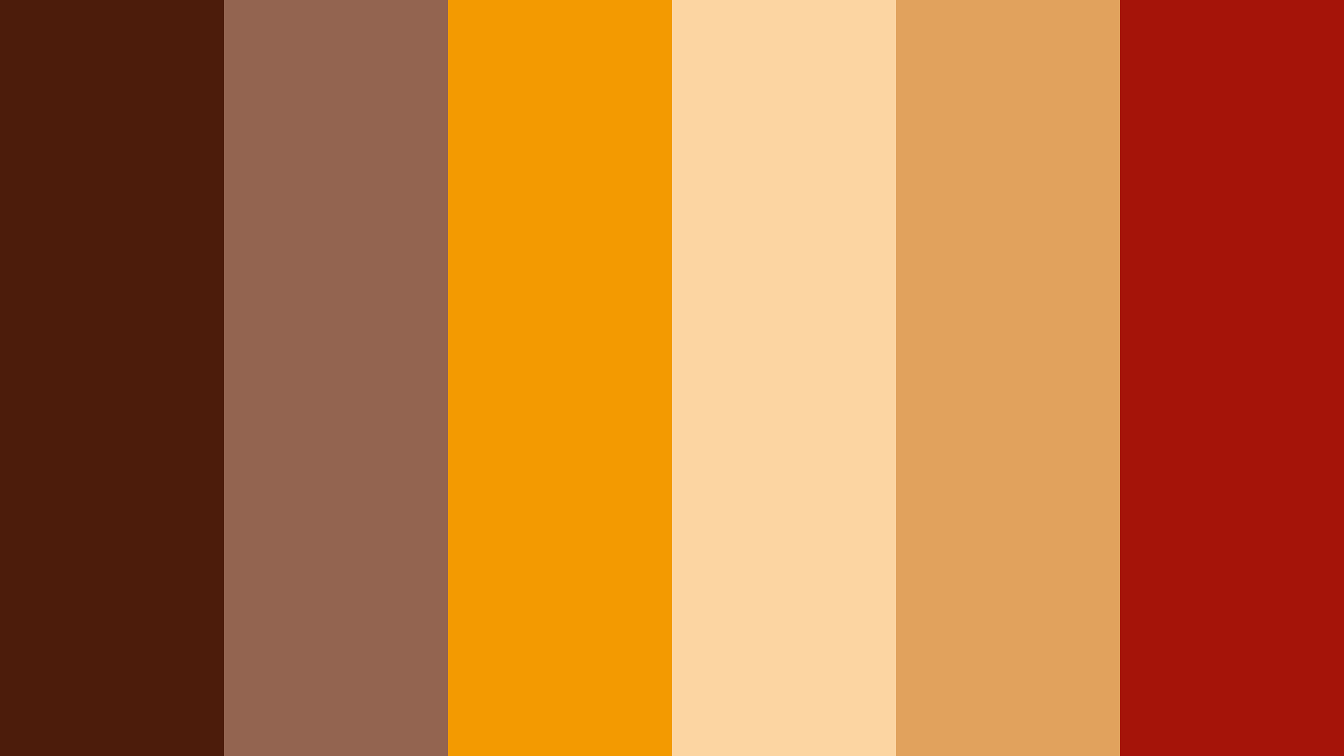 Spicy Spices Color Palette