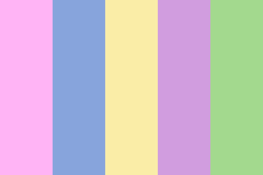 Spirals And Pastel Dreams Color Palette