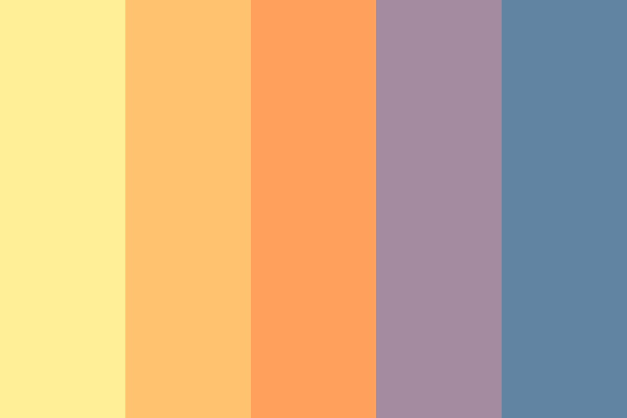 Split The Sky Color Palette