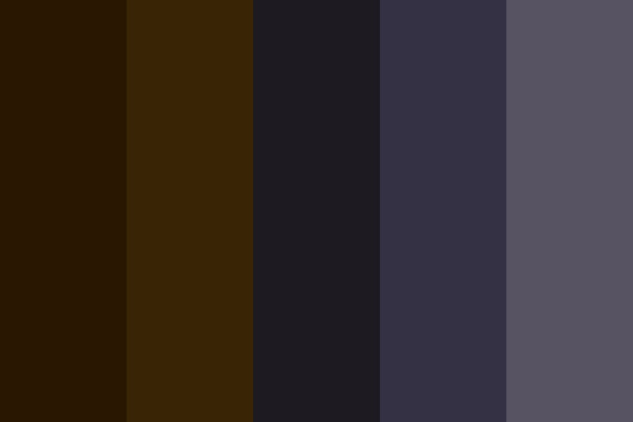 Spookee Coffee Color Palette