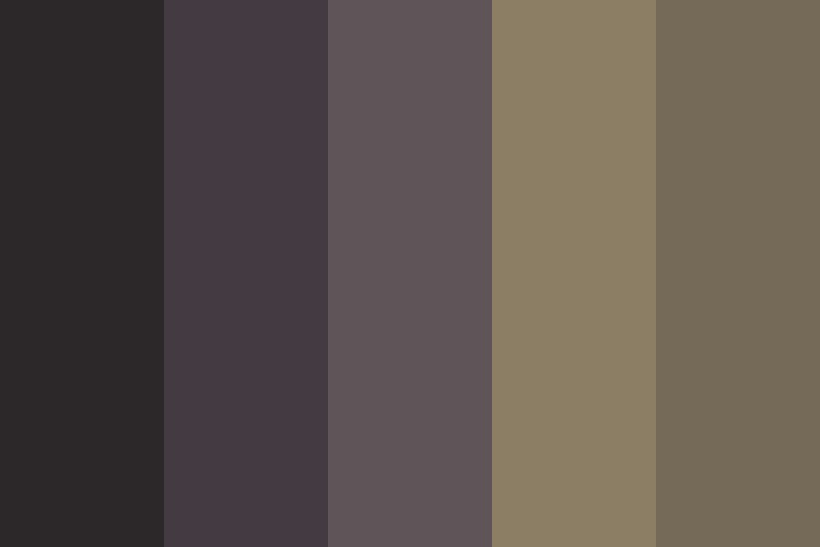 Spooky Moon Color Palette