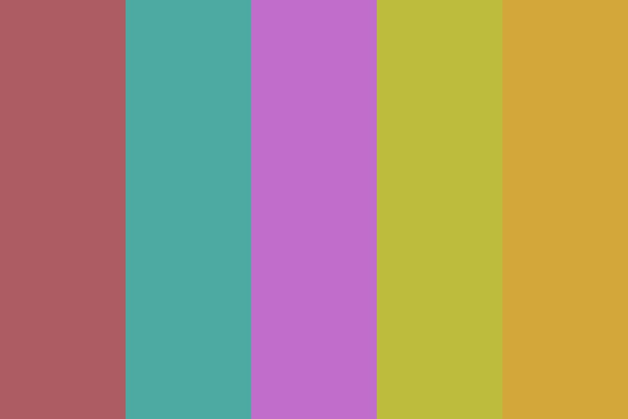 Spring And Rain Color Palette