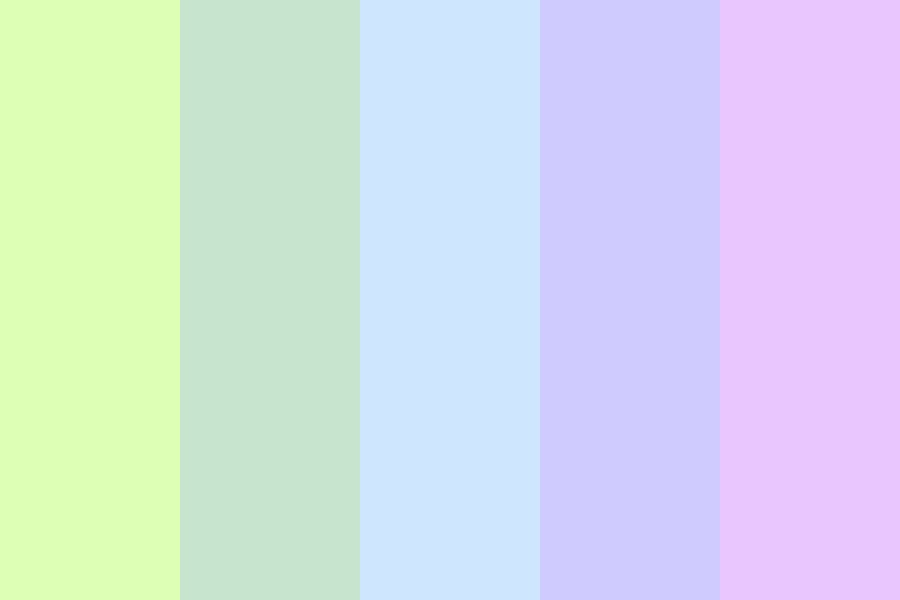 Spring Flight Color Palette