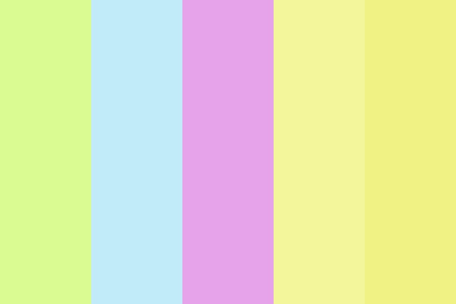 Spring In To Easter Color Palette