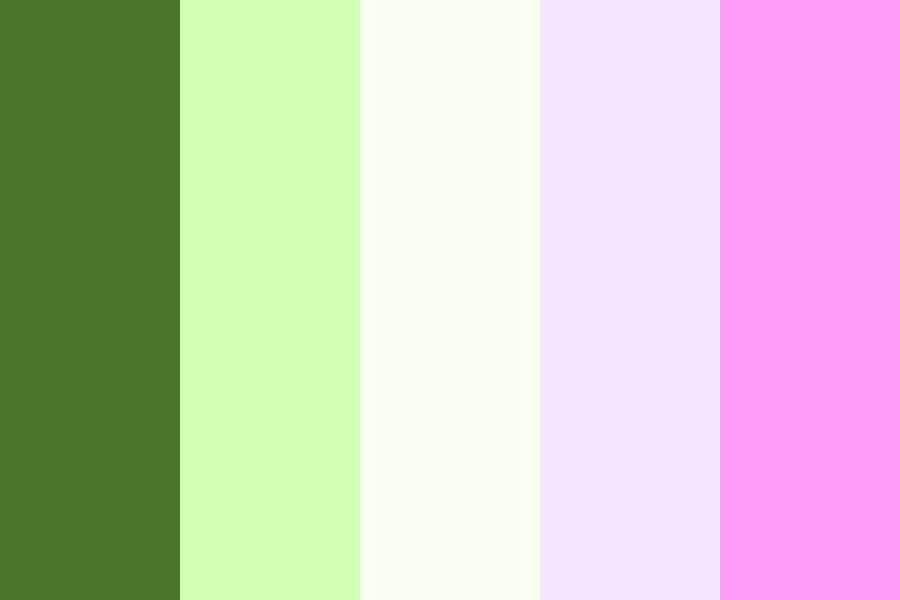 Spring Lotus Color Palette