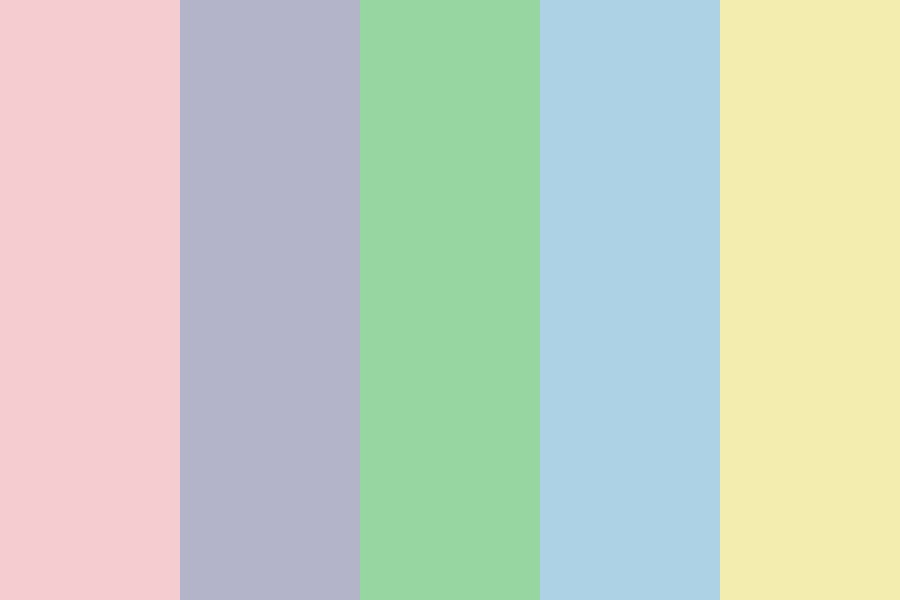 Spring Pastel Colors Color Palette