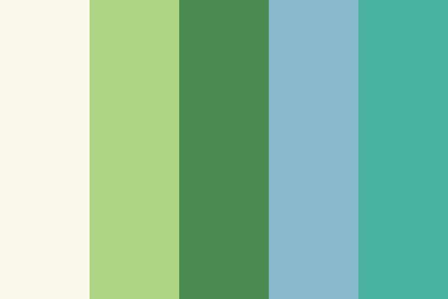 Spring Shadow Color Palette