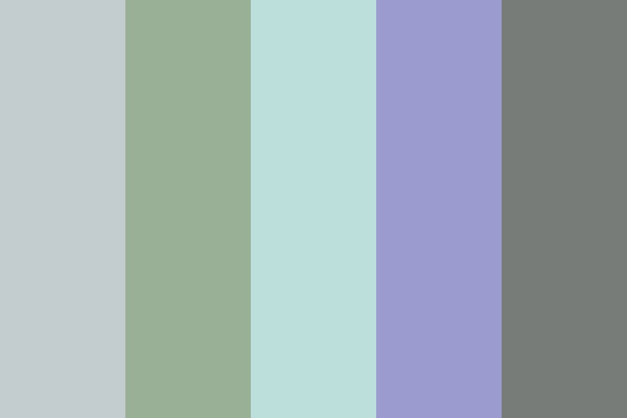 Spring Stream Color Palette