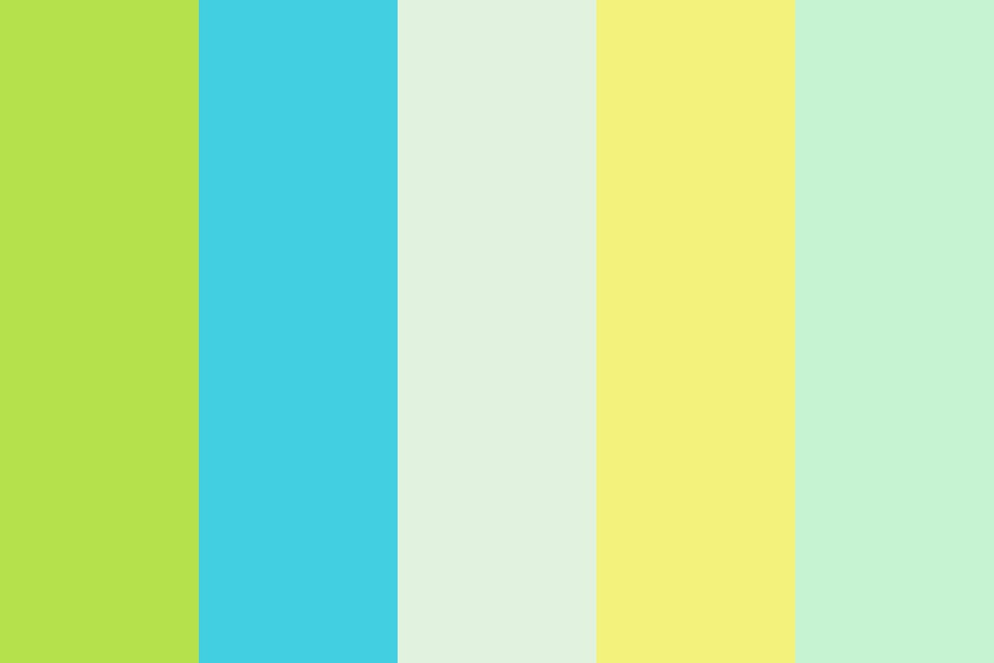 Spring Sunshine Color Palette