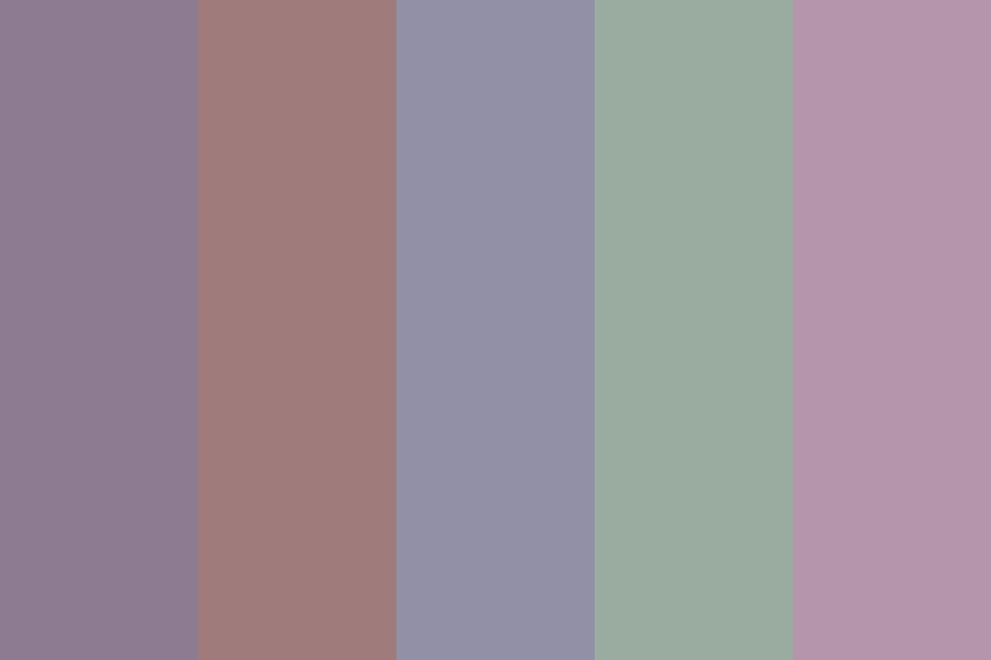 Spring Wine Color Palette