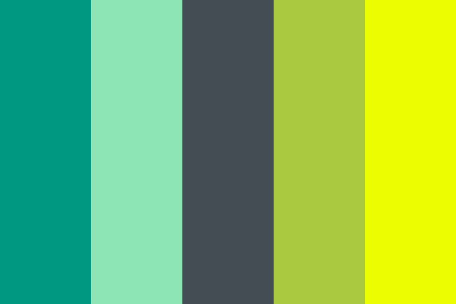 Springcandymint Color Palette