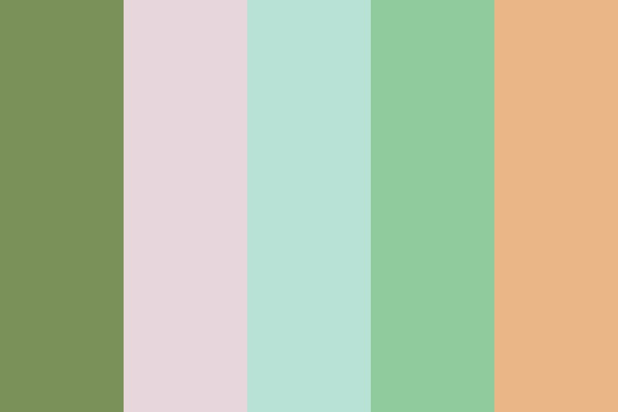 Springy Colors Color Palette
