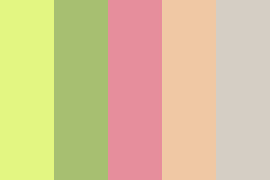 Sprint To Spring Color Palette