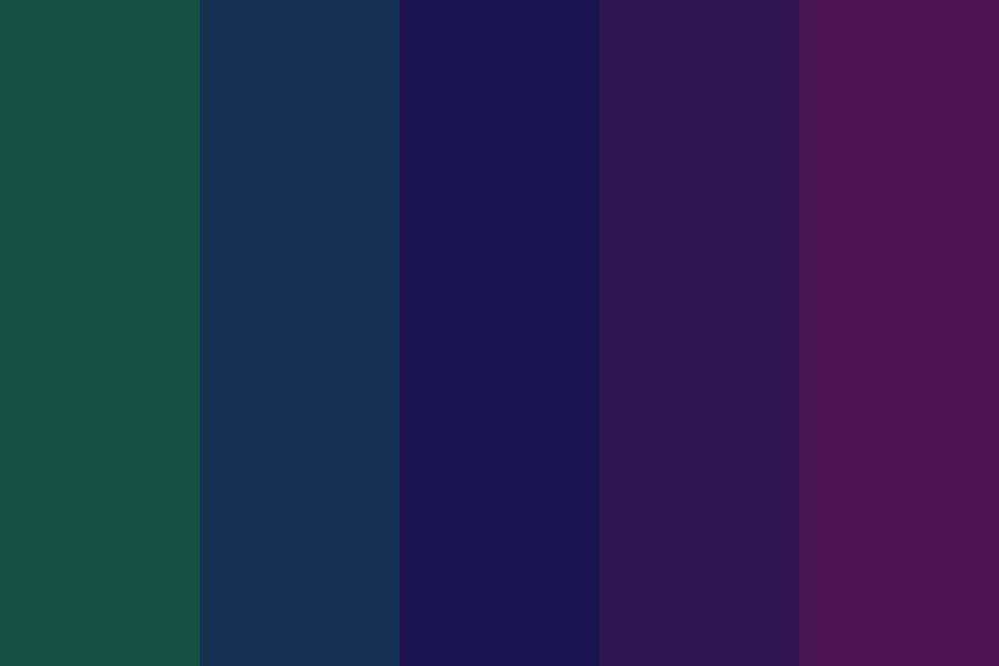 Squinting At Night Color Palette