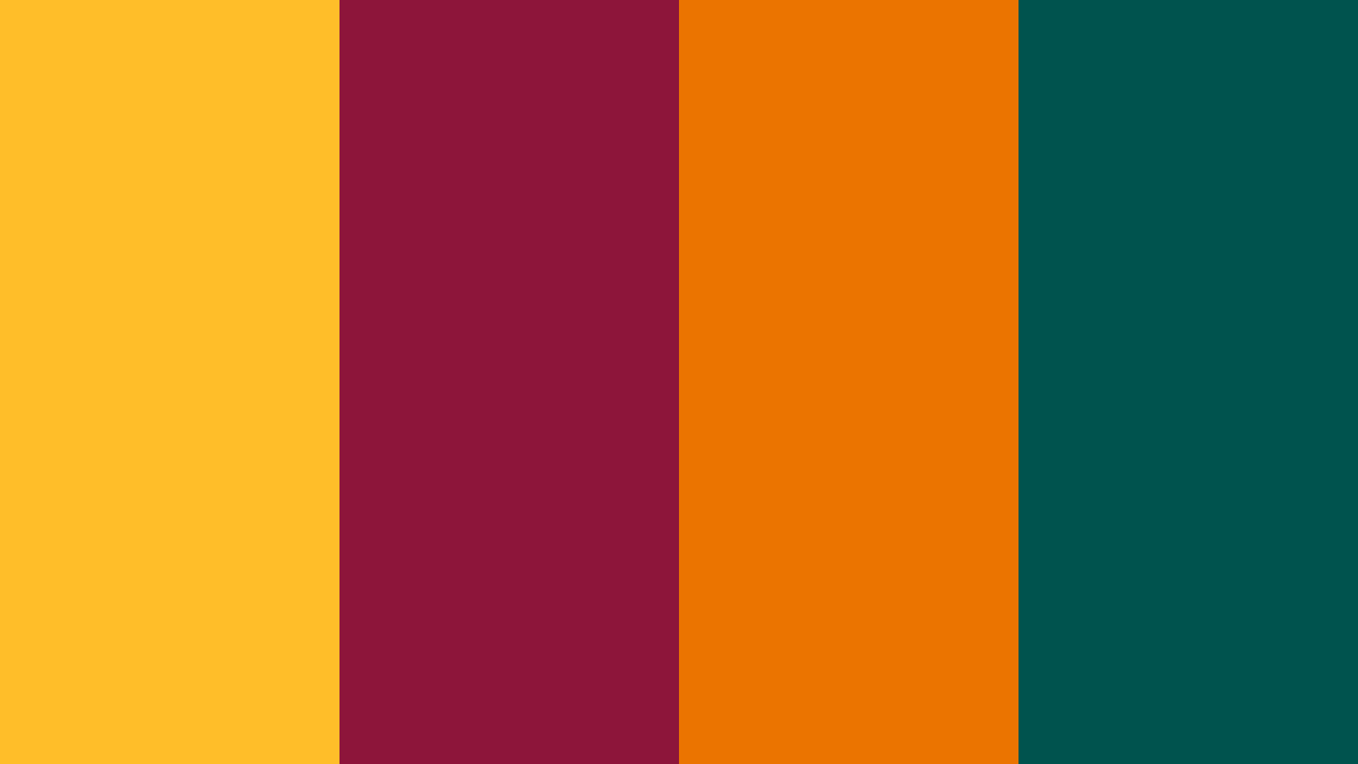 Sri Lanka Flag Color Palette