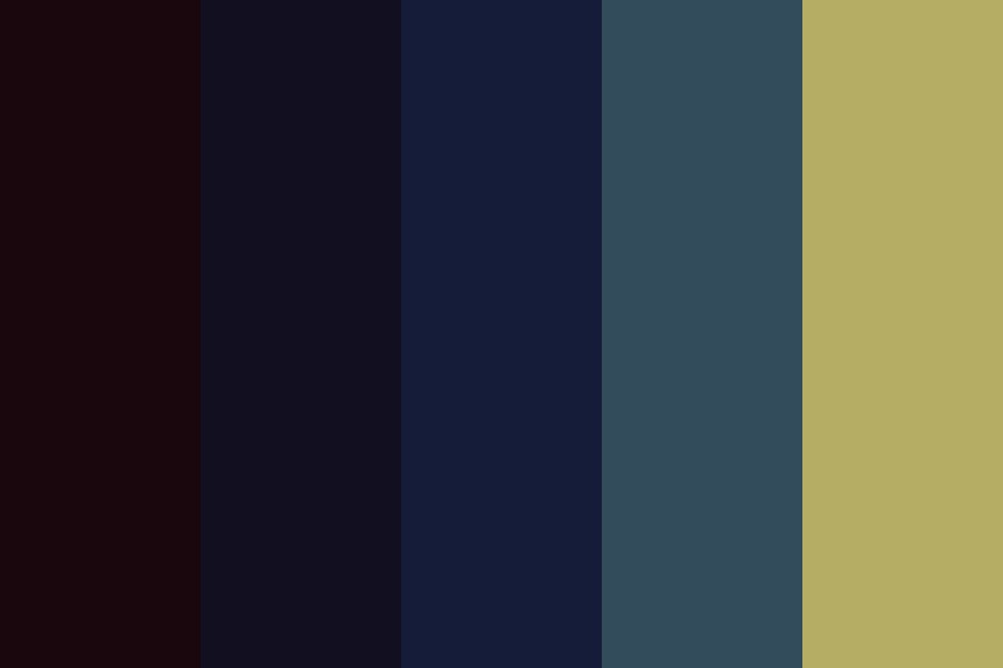 Starry Night Color Palette