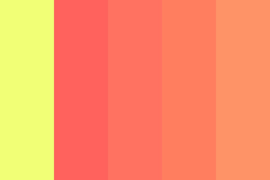 Stary Sunset Color Palette