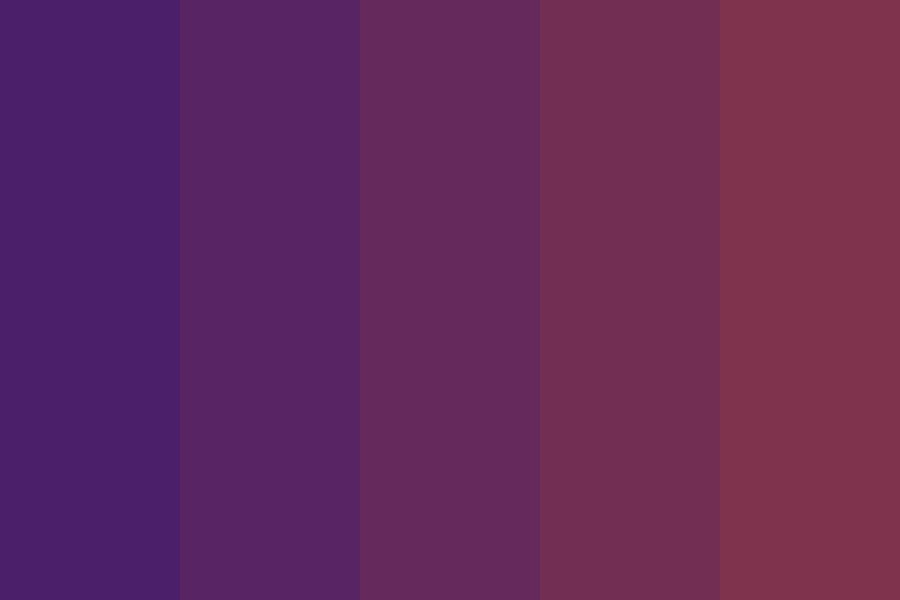 Static Space Lover Color Palette