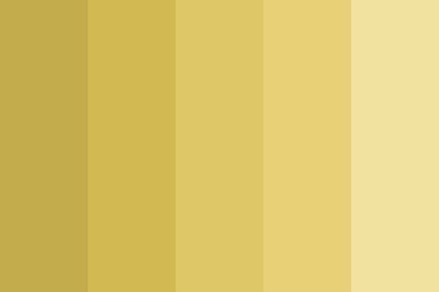 Stay Gold Sweetheart Color Palette