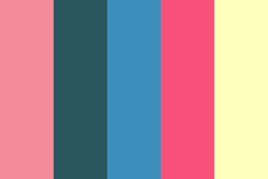 Steven In Space Color Palette